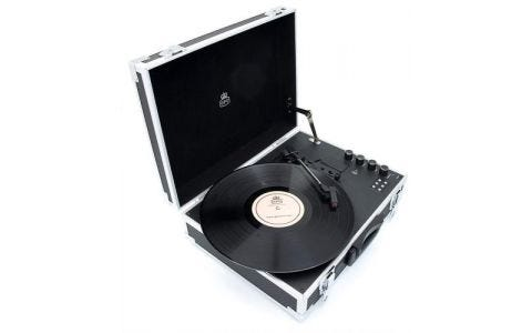 GPO Flight Case Turntable and Cassette