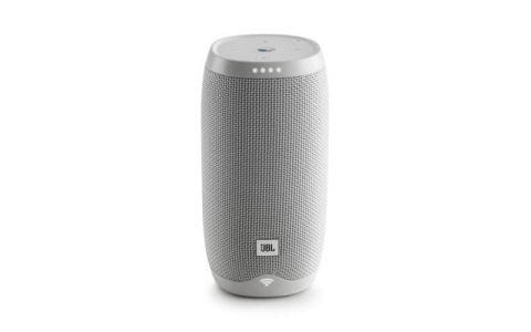 JBL Link 10 Voice activated portable speaker - White