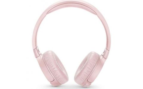 JBL Tune 600BTNC Wireless Bluetooth Noise-Cancelling Headphones - Pink
