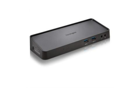 Kensington SD3650 Universal USB 3.0 Mountable Docking Station - Black