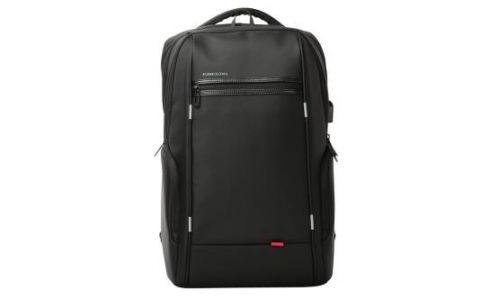 "Kingsons K9004-BK 15.6"" Power Series Smart Backpack With Built-in USB - Black"