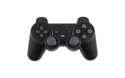 Pi Supply Bluetooth Game Controller For Playstation and Raspberry Pi - Blk