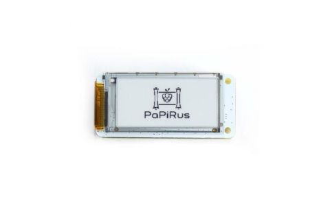 "Pi Supply PaPiRus Zero - ePaper / eInk Screen pHAT for Pi Zero - Medium (2.0"")"