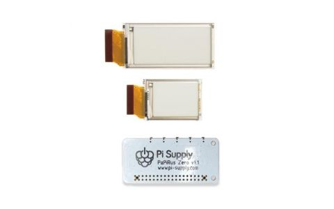 Pi Supply PaPiRus Zero - ePaper / eInk Screen pHAT for Pi Zero - Multi Screen