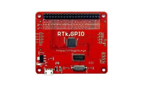 Pi Supply Ryanteck RTk.GPIO (PC GPIO Interface)