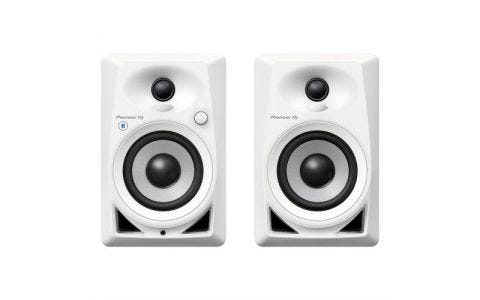 Pioneer  DM-40BTW Active Monitor Speakers with Bluetooth - White