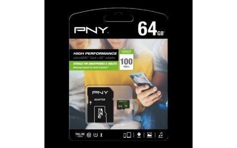 PNY MicroSDHXC High Performance 64GB