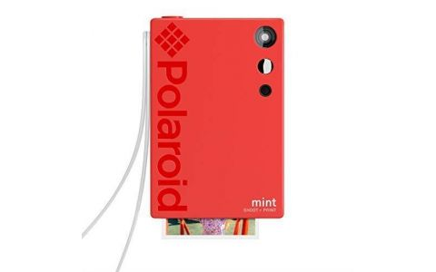 Polaroid Mint Camera with 5 FREE PRINTS - Red