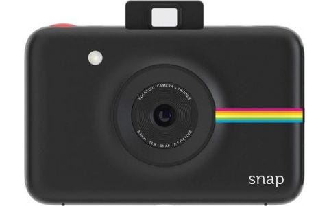 Polaroid Snap Instant Digital Camera with 20 Sheets - Black