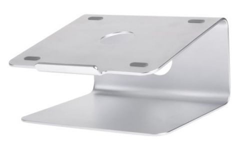 ProperAV Deluxe Aluminium Rotating Laptop Stand for Macbook and 11'-17' Laptops