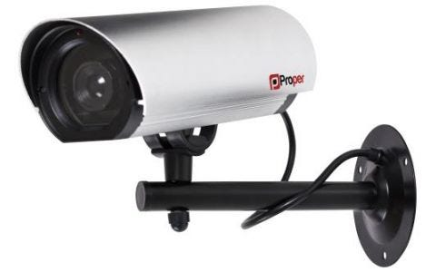 ProperAV Large Imitation Security Camera
