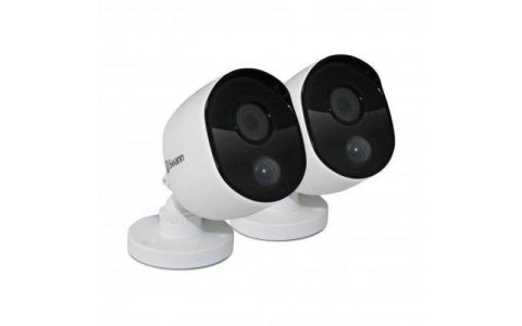 Swann PRO-1080MSB Heat-Sensing 1080p HD Camera Twin Pack