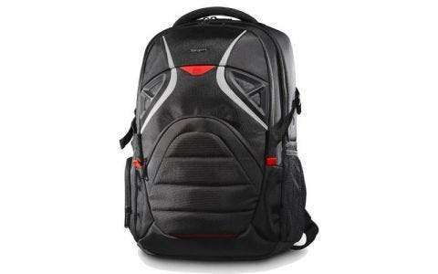 "Targus Strike 17.3"" Gaming Laptop Backpack - Black/ Red"