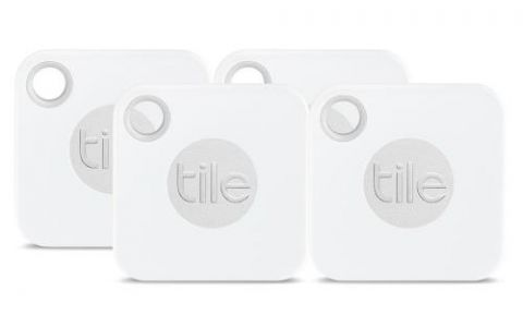 Tile Mate Smart Tracker - White - 4 pack