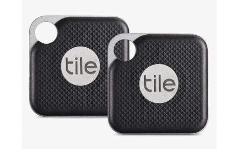 Tile Pro Smart Tracker - Black - 2 pack