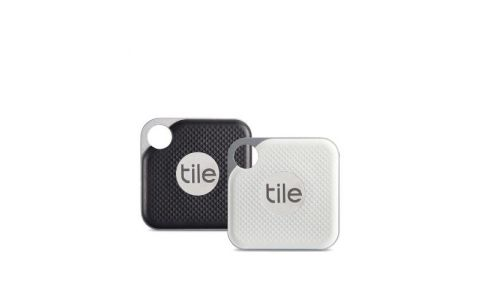 Tile Pro Smart Tracker - Black and White Combo - 2 pack