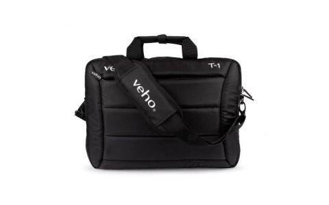 Veho T-1 Laptop Bag wth Shoulder Strap - Black