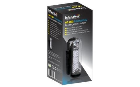 InfaPower Rechargeable Lantern 60 LED