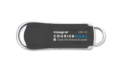 Integral 16GB Courier AES Dual User USB 3.0 Flash Drive