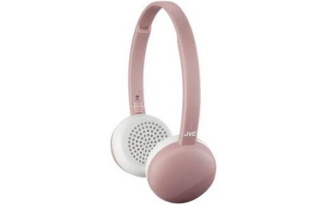 JVC HA-S20BT On Ear Headphones Wireless Flats Bluetooth - Pink