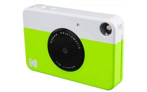 Kodak Printomatic Instant Camera (ZINK Technology) - Green