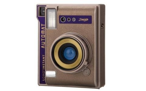 Lomography Instant Automat Camera Bronze Dahab Edition + 20 Shots