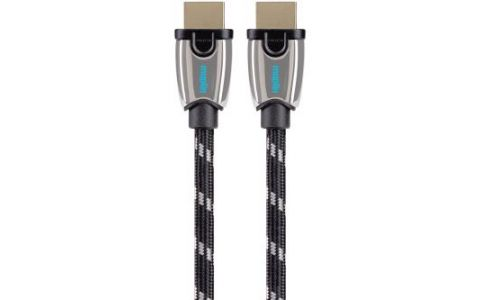 Maplin Pro HDMI Triple Screened Cable Gold Connector 1080p 2K 4K 0.75m