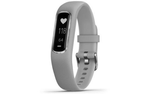 Garmin Vivosmart 4 Fitness Activity Tracker - Small/Medium -Grey/Silver