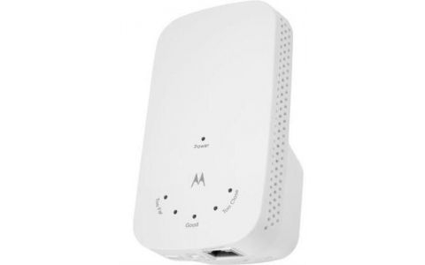 Motorola AC1200 WiFi Range Extender, Dual Band, Model MX1200