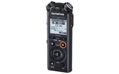 Olympus LS-P4 8GB Hi Res Audio Recorder inc Battery and Tripod Adapter