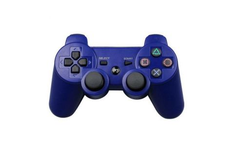 Pi Supply Bluetooth Game Controller For Playstation and Raspberry Pi - Blue
