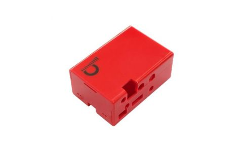 Pi Supply JustBoom DAC HAT Case - Red