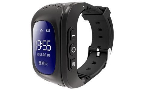 Pinit Intigo p1 Childrens GPS Smart Watch - Black