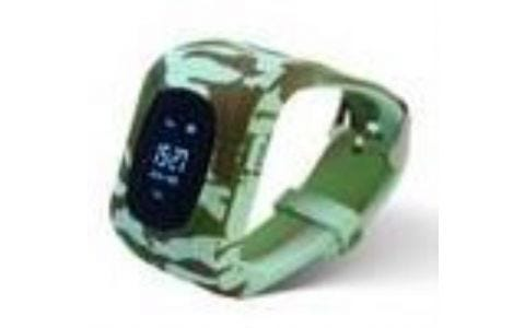 Pinit Intigo p1 Childrens GPS Smart Watch - Jungle Camouflage