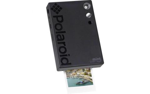 Polaroid Mint Camera with 5 FREE PRINTS - Black