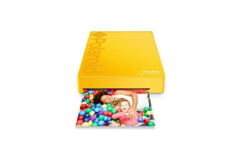 Polaroid Mint Printer with 5 FREE PRINTS - Yellow