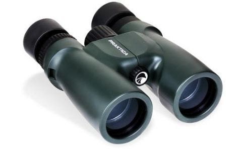 PRAKTICA 10x42mm Waterproof Binoculars - Green