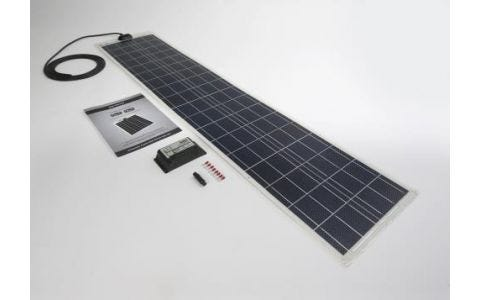 PV Logic 60wp Flexi PV Kit & 10ah Charge Controller