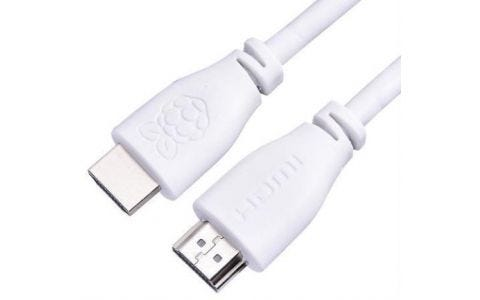Raspberry Pi HDMI Official Cable - White, 1m