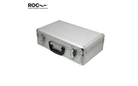 ROC Aluminium Case (Silver) - 400 x 240 x 125mm with inner Foam