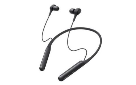 Sony WI-C600N Wireless Noise Cancelling In Ear-Neckband Headphones-Black