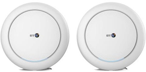 BT Premium Whole Home Wi-Fi (Two Discs) Twin