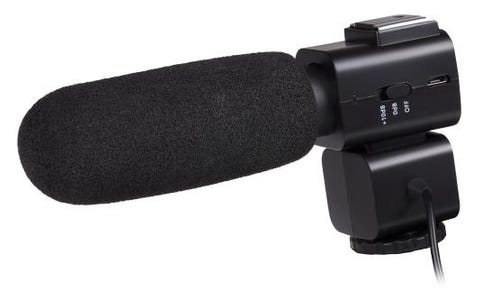 ProSound Shotgun Microphone for DSLR, Cameras, Camcorders, Audio Recorders