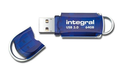 Integral 64GB Courier USB 3.0 Flash Drive