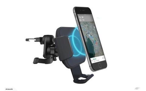 Cygnett Race 10W Wireless Smartphone Car Charger - Vent Mount