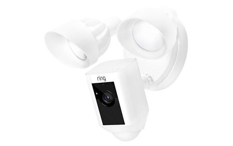 [Like New] Ring Floodlight Outdoor Wireless Full HD Night-Vision Security Camera - White