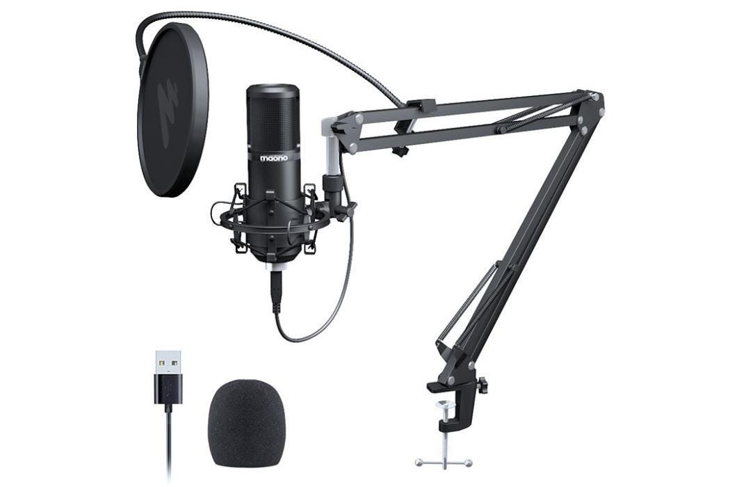 Maono USB Podcasting Microphone Kit