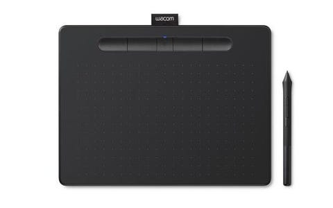 Wacom Intuos Comfort CTL-4100WL Small Creative Pen Tablet with Bluetooth - Black