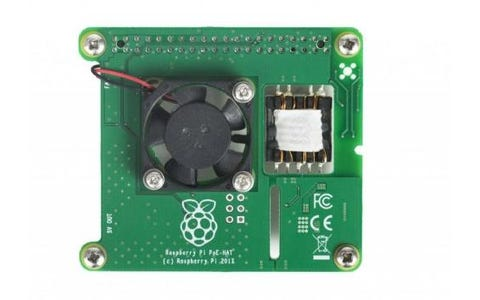 Raspberry Pi Power over Ethernet (PoE) HAT