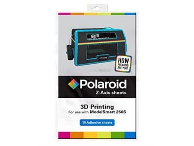 Polaroid Z-Axis 3D Protection Adhesive Print Sheets for Polaroid ModelSmart 250S